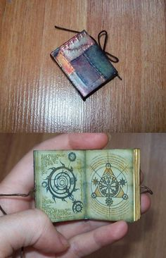 OMG I WANT THIS!!!!!!! Skyrim Oghma Infinuim mini book by sereniti-dragonheart on deviantArt