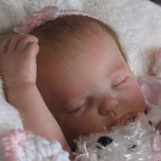 "Reborn OOAK Baby Girl Doll ""Rose"" by Donna Rubert now ~Kylie~"