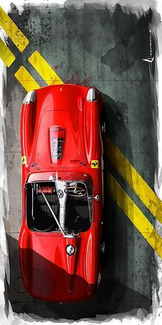 "vintageclassiccars: ""Testa Rossa, "" - US Trailer would like to lease used trailers in any condition to or from you. Contact USTrailer and let us rent your trailer. Click to http://USTrailer.com or Call 816-795-8484"