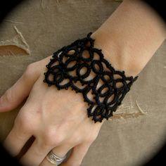 Tatted Cuff Bracelet - TotusMel