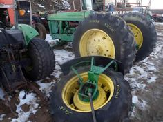John Deere 2955 tractor salvaged for used parts. This unit is available at All States Ag Parts in Downing, WI. Call 877-530-1010 parts. Unit ID#: EQ-25313. The photo depicts the equipment in the condition it arrived at our salvage yard. Parts shown may or may not still be available. http://www.TractorPartsASAP.com