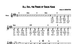 All Hail the Power of Jesus' Name Chords and Vocals