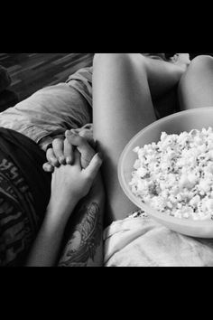 This is so happening...eating popcorn, holding hands, watching marvel movies, oh yes:)