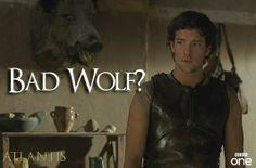 BAD WOLF!.....O.K. WHERE'S ROSE!
