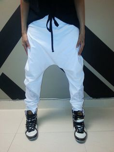 These drop crotch pants are 100% handmade in Miami 55a13135112a