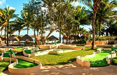 Anyone up for some mini golf? Just one of the many activities at Dreams Puerto Aventuras Resort & Spa!