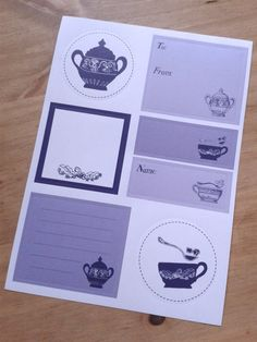 Cup of tea anyone? by Caroline on Etsy
