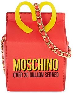 Moschino Happy Meal shoulder bag
