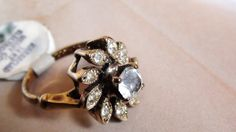 Cluster Ring Karatclad Unused Cocktail one of my by LuisBlindFinds