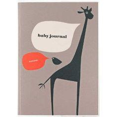 Baby Tagebuch, Babyjournal - Album zur Geburt, gebunden, 208 Seiten mit goldener Buchkante
