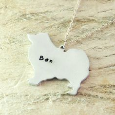 Samoyed dog necklace dog pendant best friend Birthday Gift pet memorial gift dog charm Animal Lover Jewelry925 sterling silver