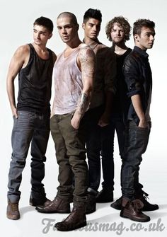 The Wanted on Fabulous Magazine cover