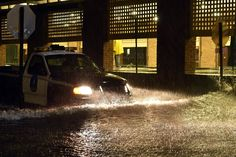 East Coast Flooding: 'Once in 500 Years' Downpour Threatens South Carolina'