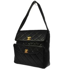Chanel Quilted Lambskin Shoulder Bag $1,660