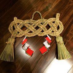 Kumiさんの、玄関/入り口,藁細工,しめ縄,わら細工,注連縄,しめ飾り,のお部屋写真