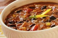 What's more comforting on a cold fall night than a piping hot bowl of chili? This black bean chili recipe comes from Taste of Home magazine's latest cookbook, Taste of Home Recipes Across America: 735 of the Best Recipes from Across the Nation, th