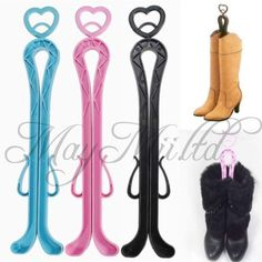 "Plastic Long Boots Tree Shaper Supporter Shaft Holder Organizer Storage Hanger I | eBay 5.30 ש""ח"