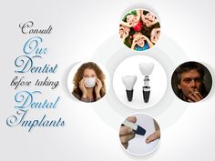 #Dentalimplants are usually not recommended for children, smokers, #diabetics, and people with weakened immune systems because they require surgery for placement.