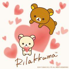 Rilakkuma #hearts #love (⌒▽⌒) リラックマごゆるりブログ
