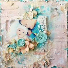 June Build-a-Page using Prima products--Stacey Young