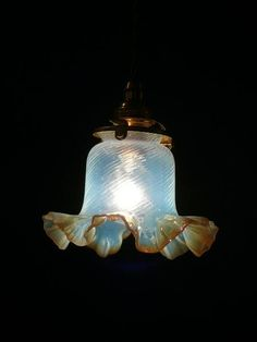 年代物 ≪フレンチアンティーク≫ランプシェード照明VP114 インテリア 雑貨 家具 Antique lamp shade ¥27000yen 〆04月30日