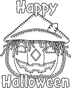 Halloween Jack - o' - Lantern coloring page