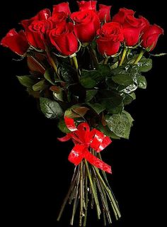 beautiful flowers to draw Roses Gif, Flowers Gif, Flowers For You, My Flower, Pretty Flowers, Red Flowers, Red Roses, Heart Flower, Beautiful Flowers Wallpapers