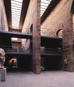 Image on Archisquare • Architettura Design Blog http://www.archisquare.it/rafael-moneo-museo-di-arte-romana-merida-spagna/