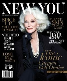 83-year-old Model Carmen Dell'Orefice Lands Magazine Cover