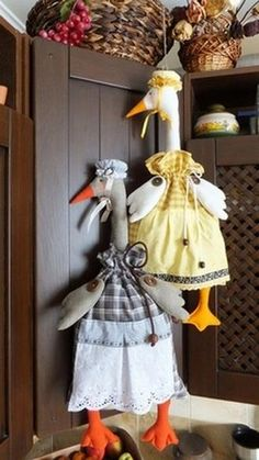 Chicken Kitchen, Textiles, Crochet, Projects To Try, Easter, Birds, Knitting, Sewing, Creative