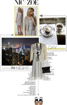 """DAY to NIGHT with NIC+ZOE"" by anandaaa21 ❤ liked on Polyvore"