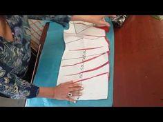 Vestido capricho de alta costura con drapeado lateral. Lección #61 - YouTube