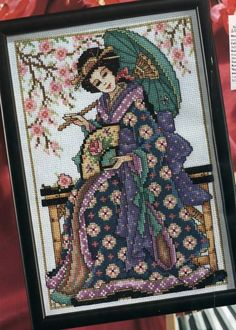 Gallery.ru / Фото #1 - Без названия - frango Cross Stitching, Cross Stitch Embroidery, Embroidery Patterns, Cross Stitch Patterns, Cross Stitch Fairy, Cross Stitch Books, Quilting Designs, Needlepoint, Fun Crafts