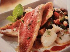 IG bas - Poêlée de rougets et calamars à la provençale