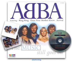 """Today in 1997 the Abba compilation """"The Music Still Goes On"""" was released in the UK ; visit my blog for more details #Abba #Agnetha #Frida http://abbafansblog.blogspot.co.uk/2017/01/abba-date-4th-january-1997.html"""
