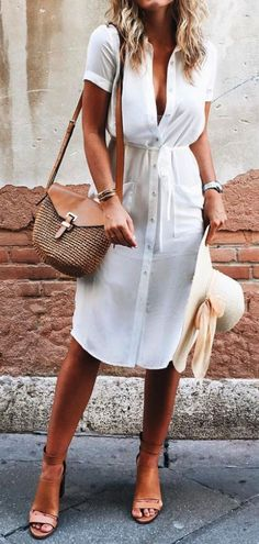 60 Casual Summer Work Outfits To Wear To Office