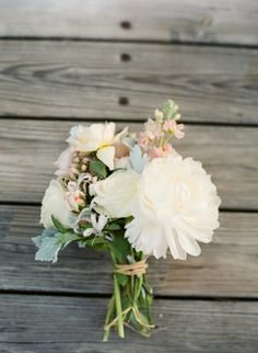 Summer wedding bridesmaid bouquet //// {Alea Lovely Destination Fine Art Wedding Photographer}