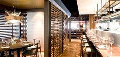 Restaurant Bar, Stairs, Contemporary, Brisbane, Table, Oriental, Furniture, Home Decor, Stairway