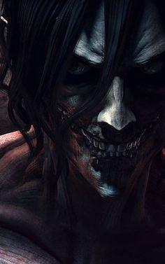 - Attack on Titan - Eren.shingeki no kyojin Attack On Titan Episodes, Attack On Titan Fanart, Attack On Titan Eren, Madara Wallpapers, Animes Wallpapers, Iphone Wallpapers, Manga Art, Manga Anime, Anime Art