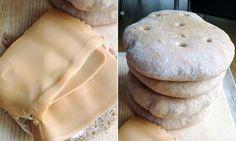 Grove polarbrød | Oppskrift | EXTRA - Pan Bread, Healthy Recipes, Healthy Food, Food And Drink, Cheese, Baking, Dinner, Breakfast, Healthy Foods
