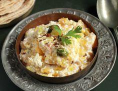 Lal Bhoplyacha Bharit Recipe (Red Pumpkin Raita)