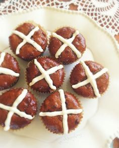 Grain Free Hot Cross Muffins (GAPS Friendly)