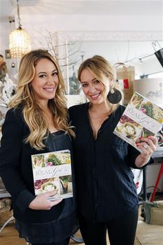 Hilary Duff Supports Sister Haylie at \'Real Girl\'s Kitchen\' Signing ...