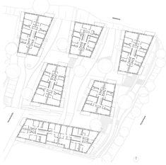 "Projekt ""Hansaterrassen""...competitionline Floor Plans, Patio, House Building, Landscape Diagram, Projects, Mockup, Hamburg, Floor Plan Drawing, House Floor Plans"