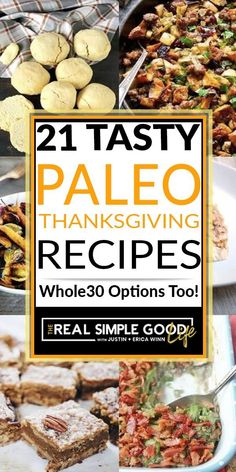 """Options for Paleo recipes for the holidays can seem like a challenge at times. Because a lot of """"traditional"""" holiday favorites feature non-Paleo ingredients such as heavy cream, canned soups, cheese and sweetened sauces, it takes a little effort to scour the internet for delicious, Paleo friendly recipes.