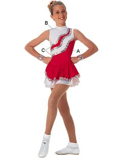Majorette Costume (Avalanche Dress)
