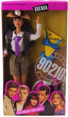 "Brenda Walsh | ""Beverly Hills, 90210"" Dolls, The Coolest Toys You Probably Never Owned"