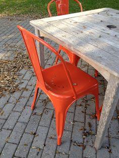#metal #chair #retro