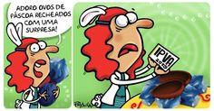 A cartunista Pryscila lembra das surpresas que assustarão o bolso do brasileiro após a magia da Páscoa