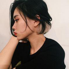 髪 カラーリング インナーカラー - Google 検索